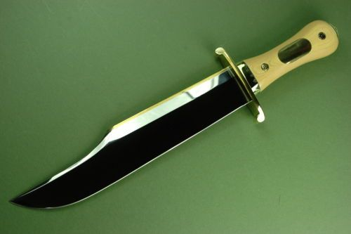 Steve Voorhis Iron Mistress Bowie Knife Mint Knives