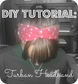 2MESSY: DIY ~ Turban Headband