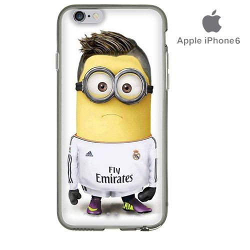 MINION BANANA REAL MADRID DESPICABLE ME iPhone 6 Custom Case