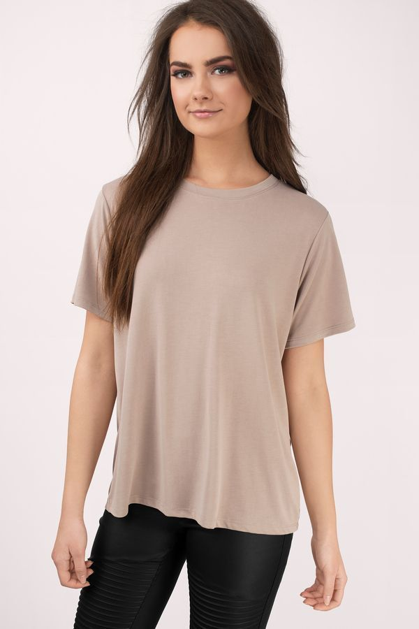 """Search """"Relax A Little Mocha Tee Shirt"""" on Tobi.com! short sleeve basic Basic outfit simple easy chic fashionable stylish style fashion essential capsule wardrobe must have casual comfy comfortable trendy spring summer shop buy cheap inexpensive ideas for women teens cute edgy closet fall college outfit outfits minimalist classic winter"""