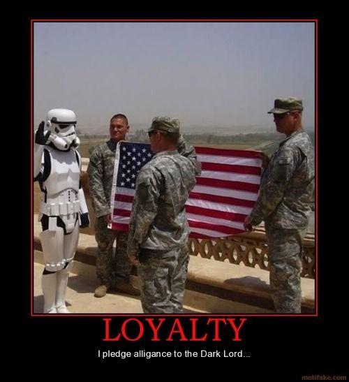 Loyalty on the dark side
