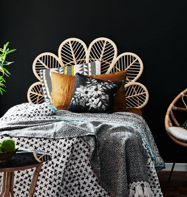 Decorative bedhead l Petal bedhead l Where to Buy Stylish Bedheads l STYLE CURATOR