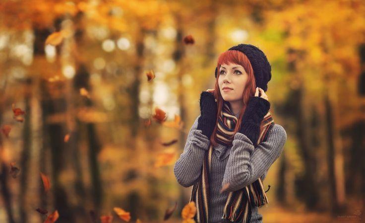 Autumn Blues by juliart5.deviantart.com on @deviantART