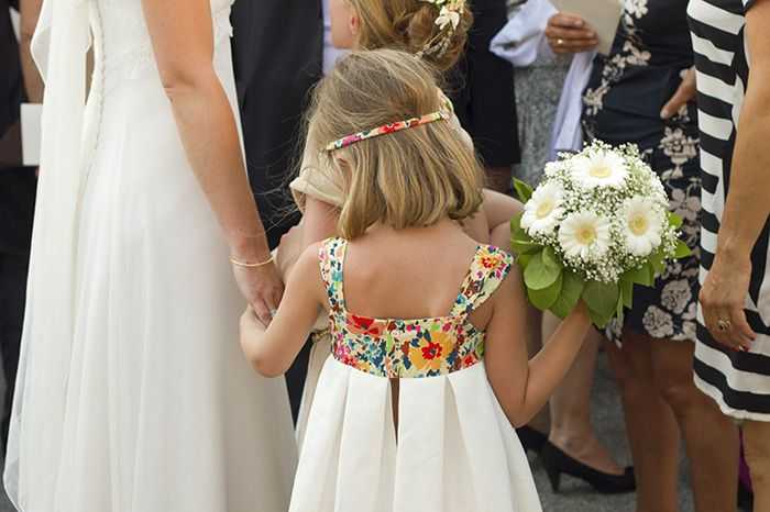 Robe de petite fille d'honneur, cortège || Cutest flower girl dress