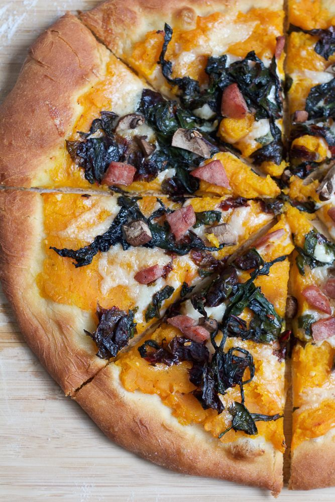 Roasted Butternut Squash Pizza with Sautéed Swiss Chard, cooked with Chardonnay wine, and topped with sausage, cremini mushrooms and more! Roasted Butternut Squash Pizza Prep Time: 30 min Cooking Time:...