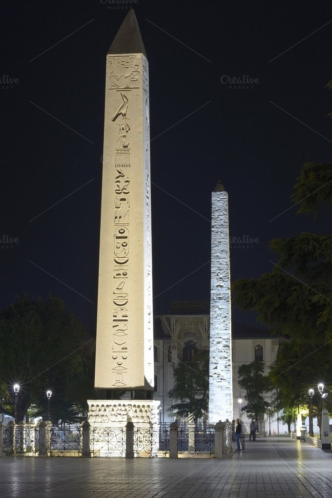 Obelisk of Theodosius by jcfmorata - Photography on Creative Market