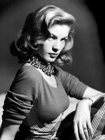 Lauren Bacall... Pure glamour.