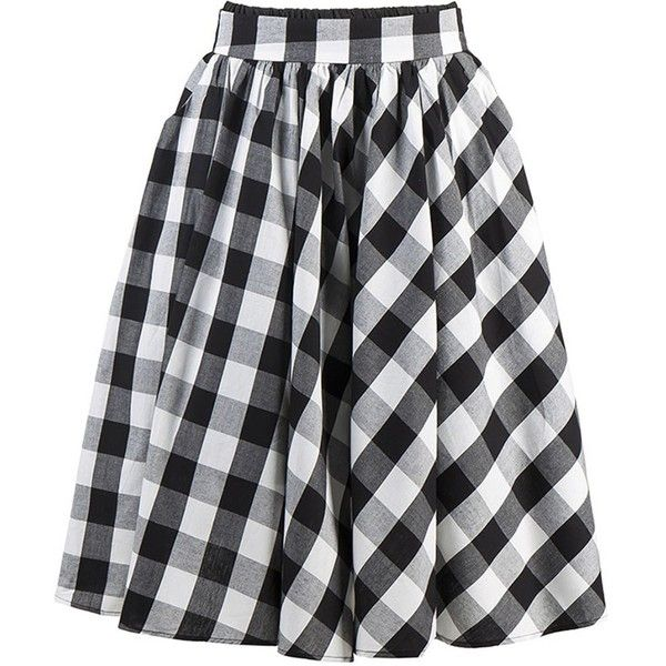 Kimring Women's Vintage High Waisted Pleated Full Skater Skirt with... (31 BAM) ❤ liked on Polyvore featuring skirts, pleated skirt, skater skirt, high-waisted flared skirts, vintage skirts and high waisted pleated skirt