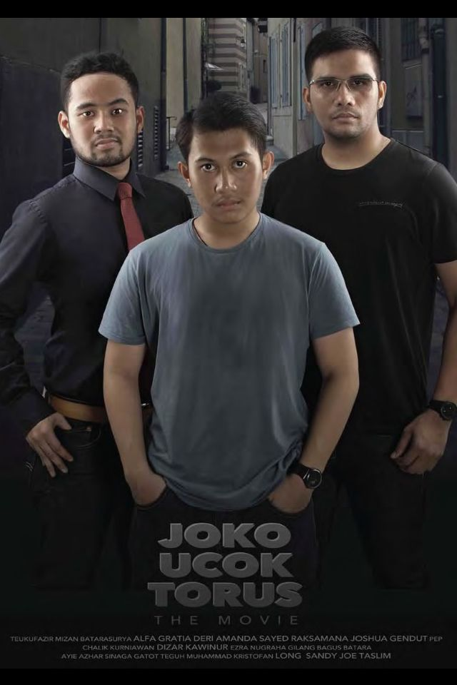 "movie cover concept ""Joko Ucok Torus"" movie series"
