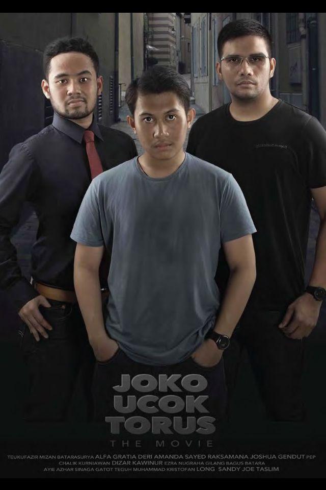 "movie cover concept ""Joko Ucok Torus"" movie series"