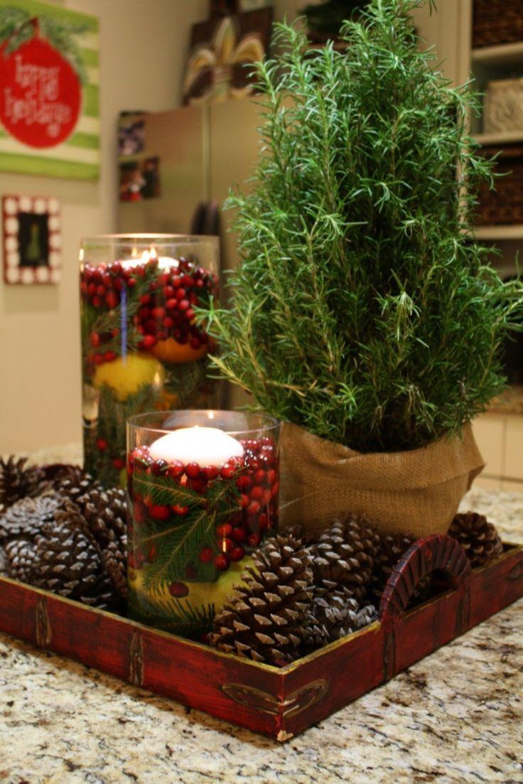 1000 ideas about kitchen island centerpiece on pinterest kitchen islands - Decoration table nature ...