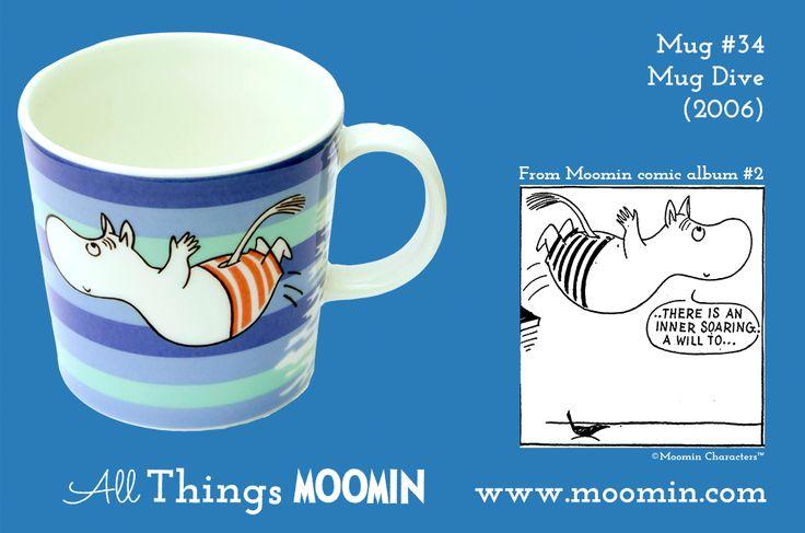 34 Moomin summer mug Dive