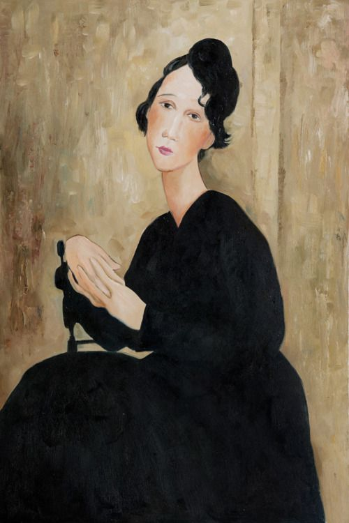 Madame Hayden, 1918 Amedeo Modigliani--said to be a fake