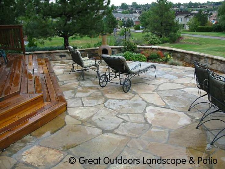 Stone Patio Ideas | Click Here For Large Image