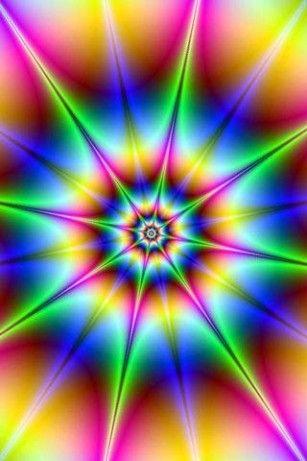 iPhone Lock Screen Backgrounds - brite fractals