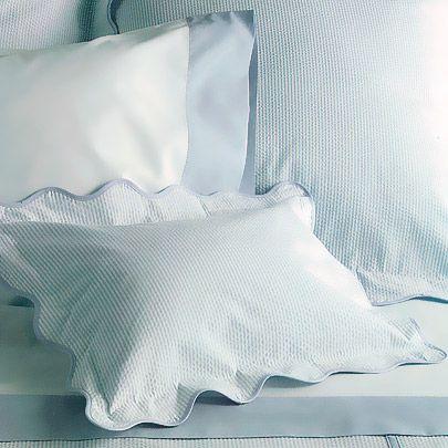 Block Island Seersucker Bed Linens