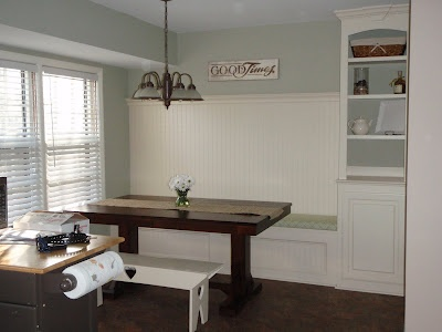 Kitchen Renovation With Built In Banquette Seating Part 56
