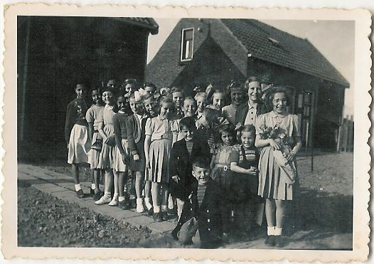Verjaardagsfeestje 1953