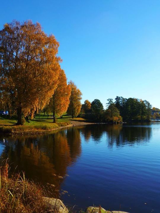 Autumn.. Vansjø, Moss, Norway /by Kikki