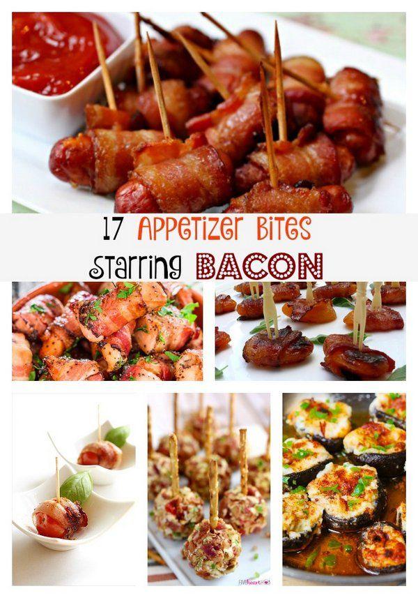 17 Appetizer Bites Starring Bacon