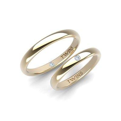 #aliança boda or groc #alianza boda oro amarillo Ref:1001