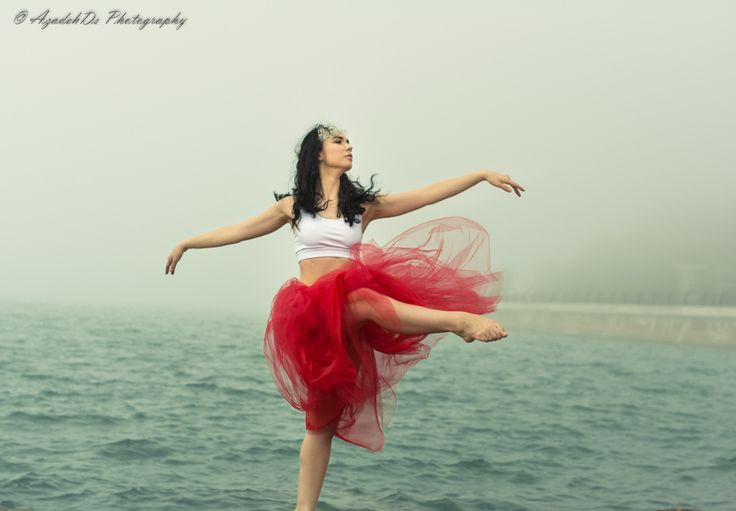 Lady in Red by  AzadehDs Photography on 500px