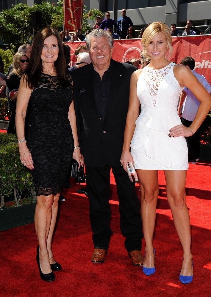 Laurie Force Courtney Force Photos Photos - Arrivals at the 2014 ESPYS at the Nokia Theatre in Los Angeles.  - Arrivals at the ESPYS