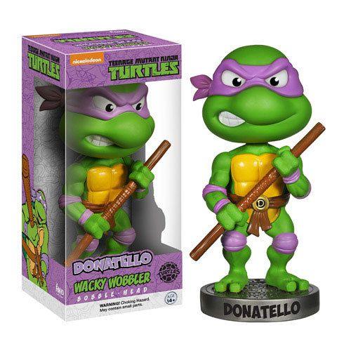 Not Just Toyz - Teenage Mutant Ninja Turtles Donatello Bobble Head, $12.99 (http://www.notjusttoyz.com/teenage-mutant-ninja-turtles-donatello-bobble-head/)