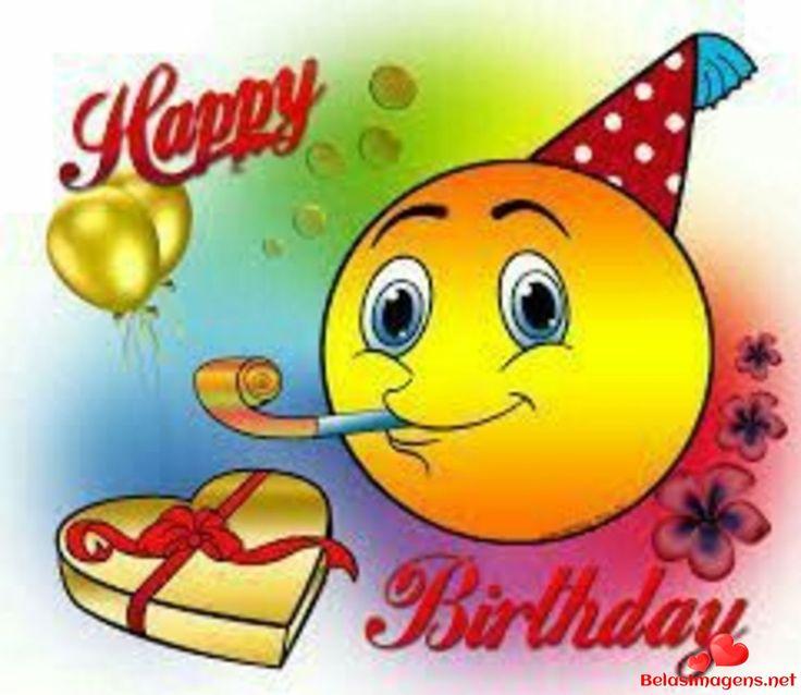 День рождения открытка смайлик, картинки евгения