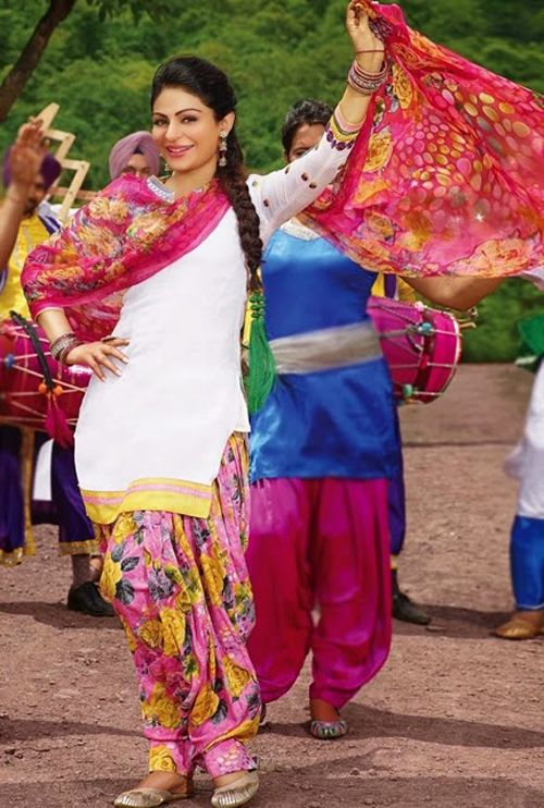Latest Punjabi Patiala Suit Designs 2015