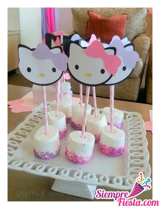 Ideas para fiesta de cumpleaños de Hello Kitty. Encuentra todo para tu fiesta en nuestra tienda online: http://www.siemprefiesta.com/fiestas-infantiles/ninas/articulos-hello-kitty.html?utm_source=Pinterest&utm_medium=Pin&utm_campaign=HelloKitty