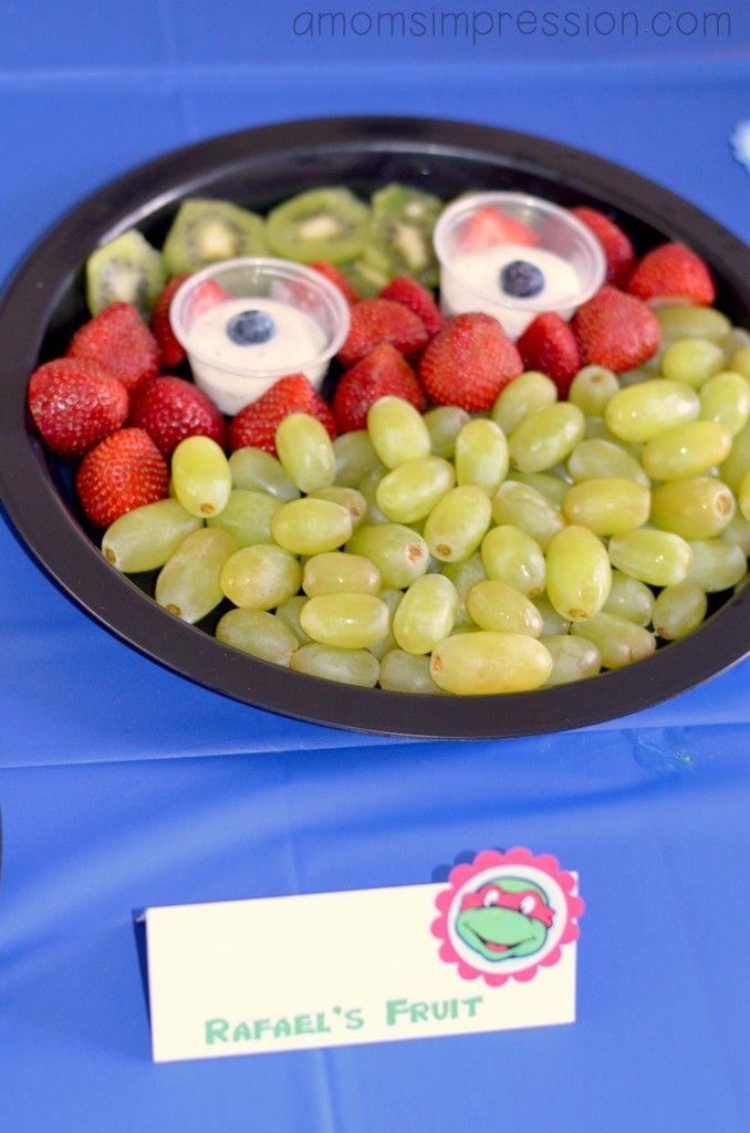 Teenage Mutant Ninja Turtles Birthday Party ~ Part 2 The Food