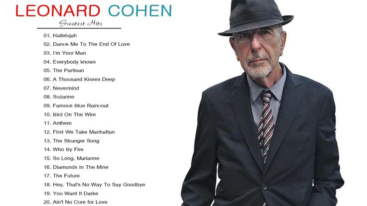 Leonard Cohen Greatest Hits - Leonard Cohen Best Songs