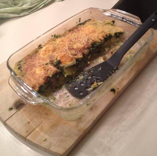 Een makkelijke ovenschotel die door mijn gasten als heerlijk wordt betiteld.
