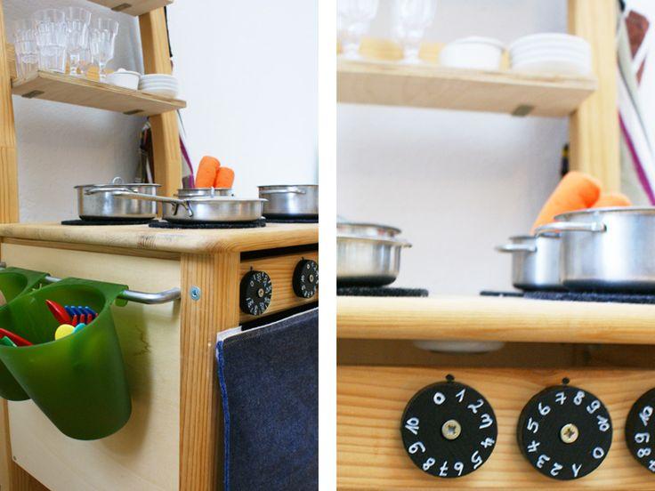 DIY Stuhlküche U2013 Eine Spielküche Aus Einem Alten Holzstuhl