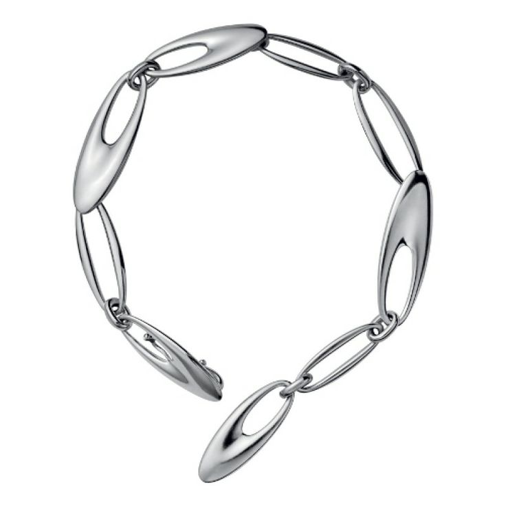 ZEPHYR BRACELET 500 BY GEORG JENSEN - 9 LINKS/22CM - SAVE £29! #bracelet #georg #jensen #present