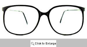 Bryce Clear Lens Wayfarers - 183 Black