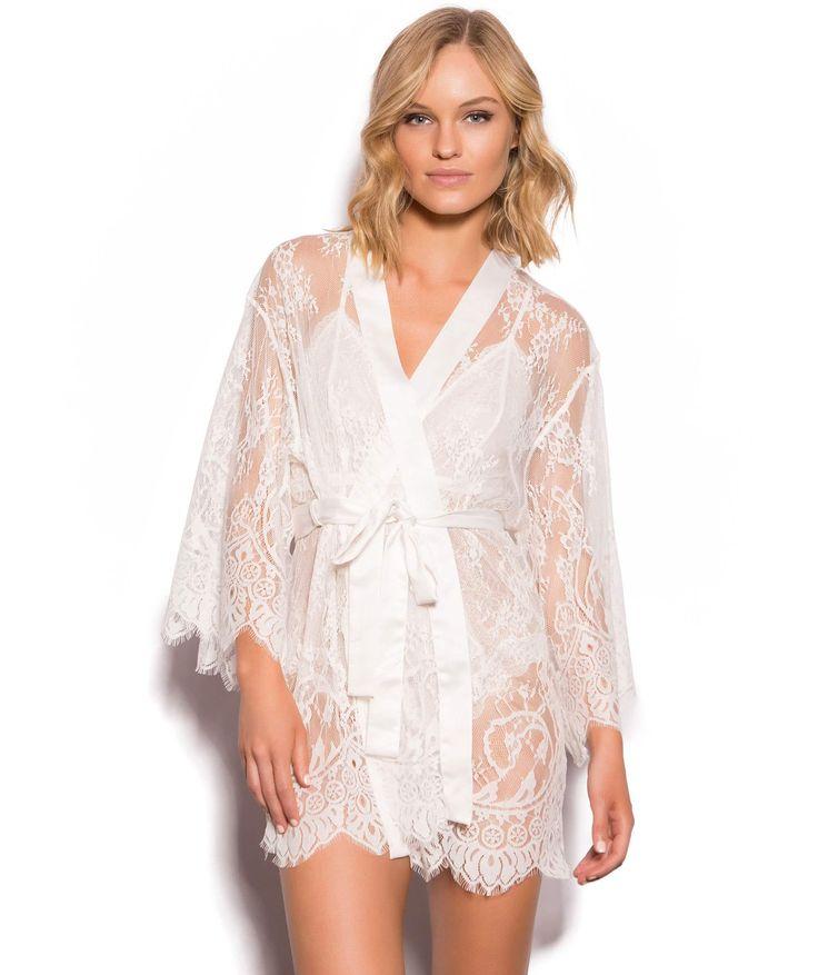 Dreamer Wrap - Ivory - Robes & Wraps - Sleep