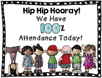 This is a cute poster that you can post everyday in your classroom when you have perfect attendance. A great way to motivate your students to come to school and be proud of being at school. Clipart: www.melonheadzillustrating.blogspot.comfonts: www.KimberlyGeswein.com and www.rowdyinroom300.blogspot.comThank you and enjoy!((HUGS))Tiffany