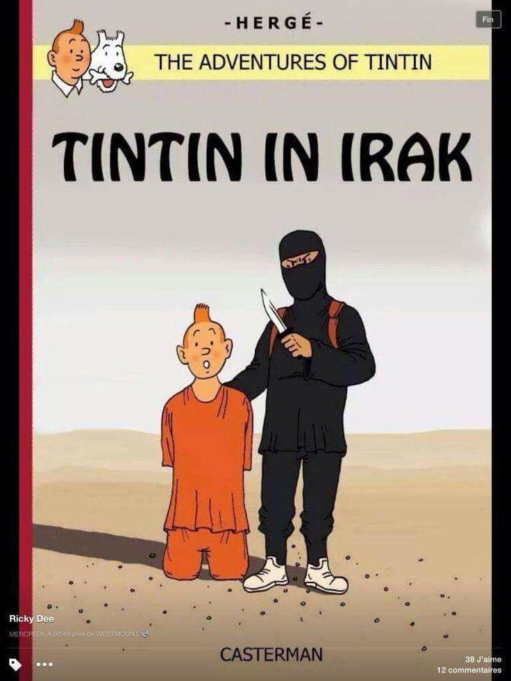 Tim im Irak - Ob er da diesmal heil rauskommt? Wo ist Struppi? Ich wußte nicht, daß neue Bände von Tim & Struppi herauskamen...