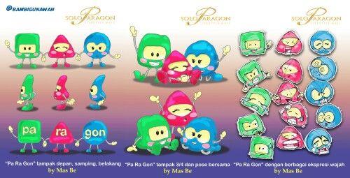 Tahun lalu, ikutan lomba mascot Paragon Solo, walopun gak menang he he he ....  sharing saja. #mascotdesign #mascot #disneystyles #Unyu2 #karakterunyu #desain_karakter #characterdesign #paragonmall #solo #karyamasbambi #bambigunawan