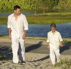 boys beach wedding outfit or they could do shorts. simple and cheap .