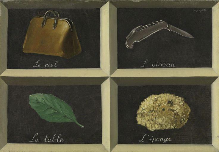 * René Magritte - - - The Interpretation of Dreams (La Clef des songes) / 1927