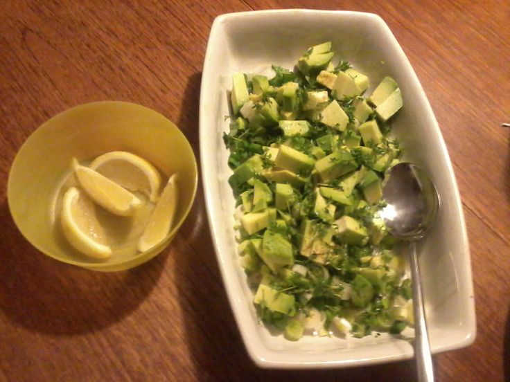 Mit vægttab med Weight Watchers: Avocadosalat