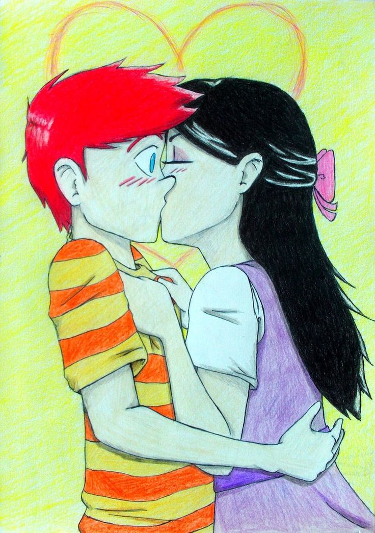 phineas and isabella kiss - Google Search