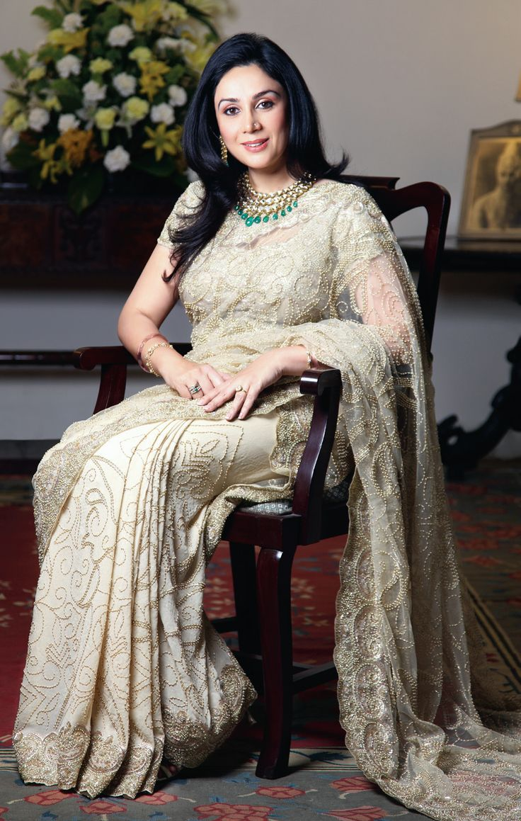 Princess Diya Kumari of Jaipur is often referred to as one of the most beautiful princesses in India