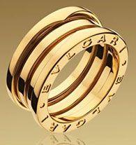 Bulgari Jewelry B.ZERO COLLECTION 18 Ct Yellow Gold Ring
