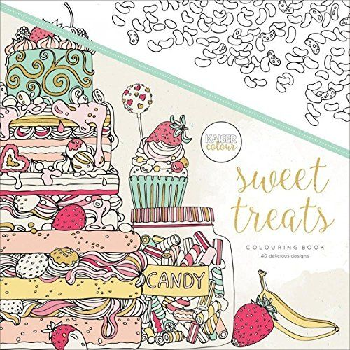 246 best coloring books n stuff images on pinterest for Sweet treats coloring pages