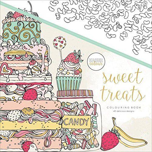 KaiserColour Perfect Bound Coloring Book-Sweet Treats Kai...