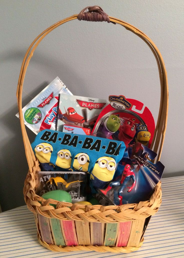 99 best chuggington easter ideas images on pinterest crafts for easter basket for my 25 yr old son basket 0 was his fathers planes book socks coloring pack 1 each target dollar spot minion tee shirt 5 negle Gallery
